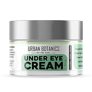 Urbanbotanics Under Eye Cream Gel For Dark Circle Puffiness Fine Lines Wrinkles Bags For Men Women 50g Amazon In Beauty