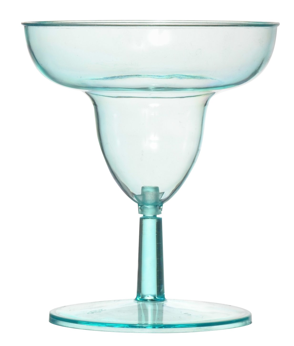 Fineline Settings Tiny Temptations Clear Two Piece 2 Oz. Tiny Toasts-Margarita Glass 120 Pieces Fine Line Settings Inc. 6402-CL