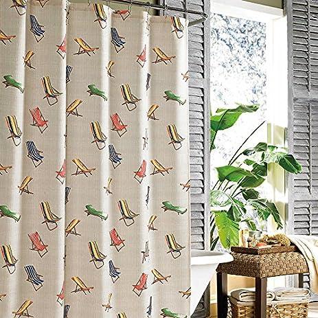 Shower Curtain Tommy Bahama Beach Chairs