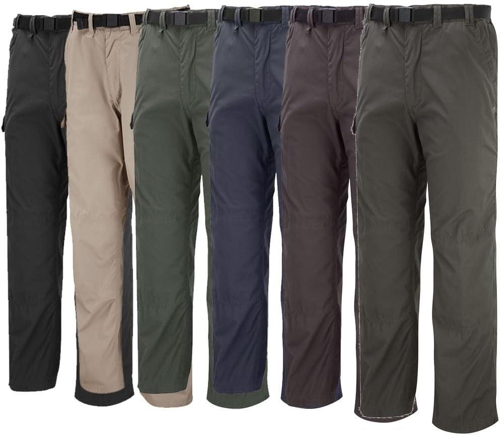 Bark SolarDry polyester cotton Craghoppers Mens Classic Kiwi Trousers