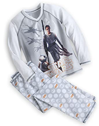 Disney Star Wars The Force Awakens Rey Pajamas Set Girls Sleep Set (2)