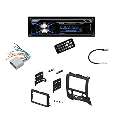 amazon com boss in dash car stereo audio receiver mounting kit sony wiring  harness colors boss car stereo wiring harness adapters