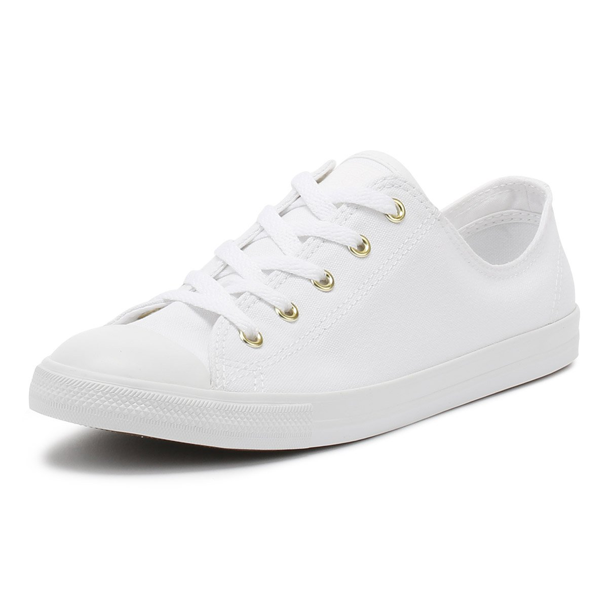 589598c9e8a3 Converse Women s Chuck Taylor CTAS Dainty Ox Low-Top Sneakers   Amazon.co.uk  Shoes   Bags