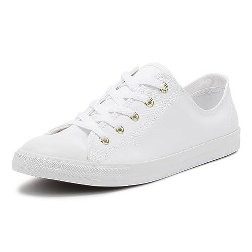 5cf8c73d04f093 Converse Women s Chuck Taylor CTAS Dainty Ox Low-Top Sneakers ...