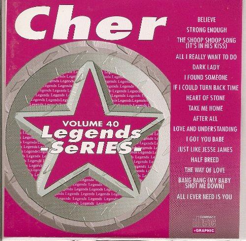 Legends #040 Hits of CHER Karaoke CDG Disk Sonny & Cher cd+g