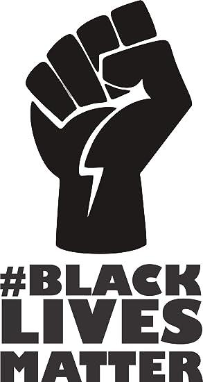 Black #1 Laptop Wall and Floor Vinyl Decal//Sticker PCSL Car Bumper or Window Black Lives Matter