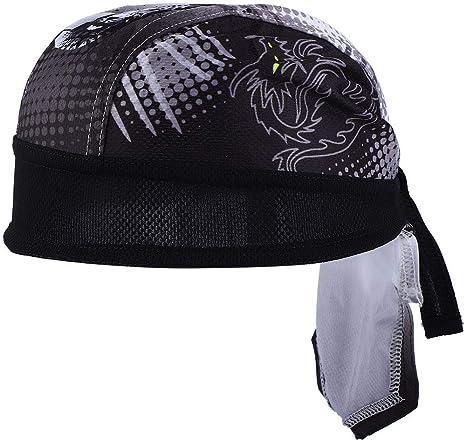 Gorra de Ciclismo Secado Rápido,Pañuelo de Cabeza de Ciclismo ...