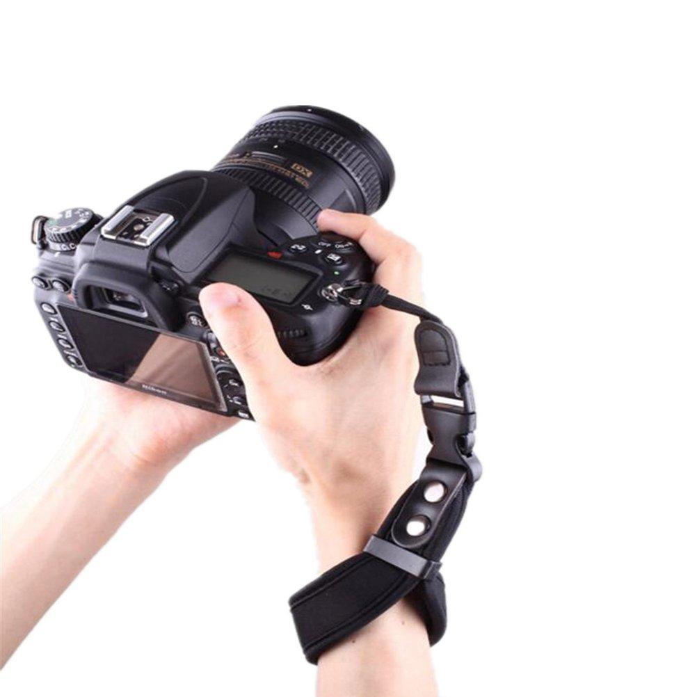 LXH Correa de mu/ñeca con c/ámara Agarre Cuero PU Sin espejo DSLR Correa de mano para Sony A6500//A6300//a6000//RX100 V//RX100M III//RX100M4//Fujifilm X30