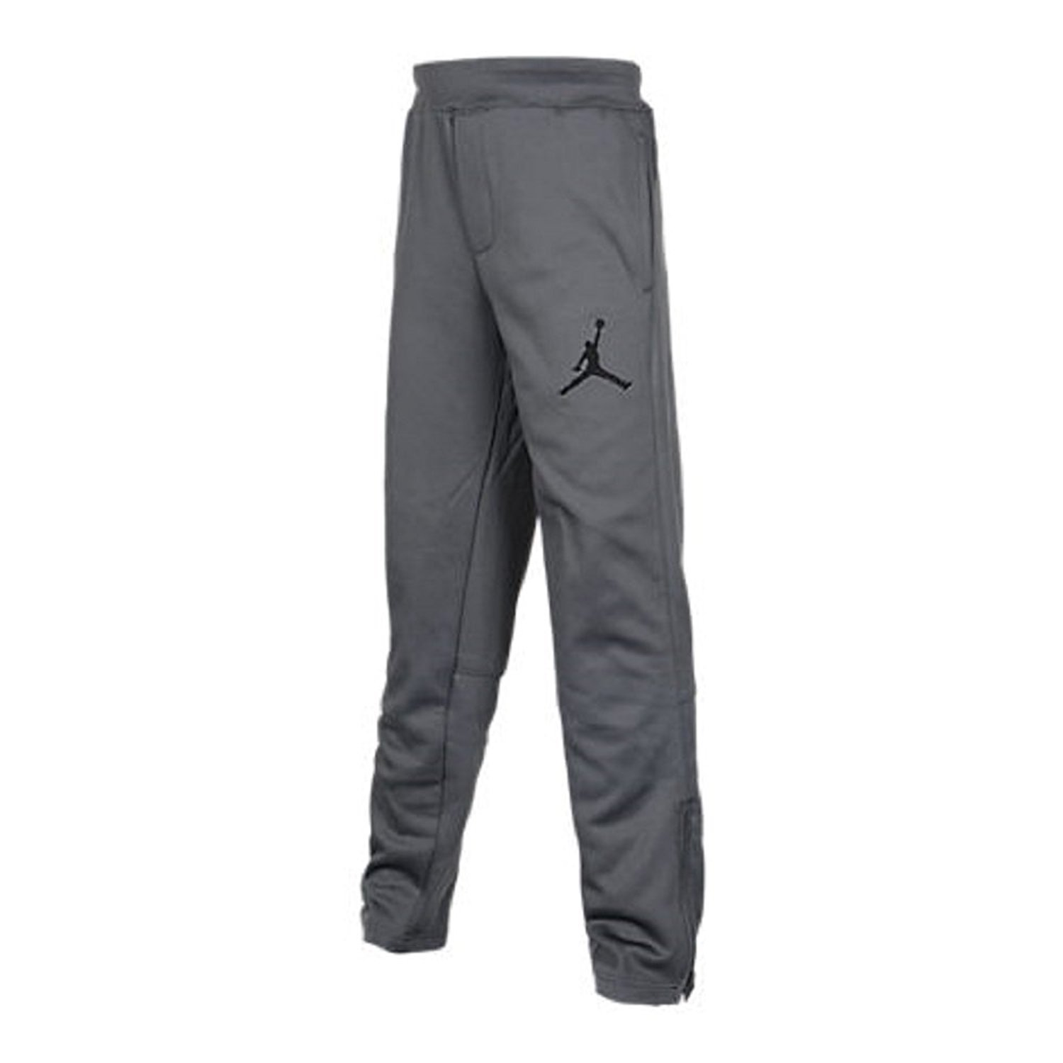 1ac475085246 Amazon.com  Nike Boys Therma-FIT Jordan Elephant Print Basketball Pants  (Grey Black