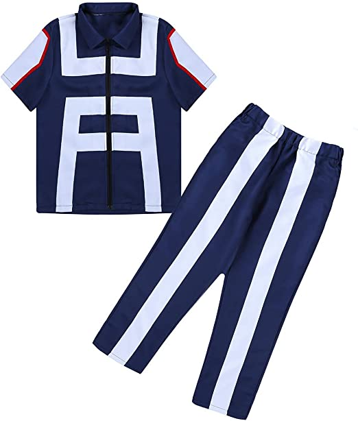 My Hero Academia  Training Suit Boku no Hero School Gym Uniform Cosplay Costume