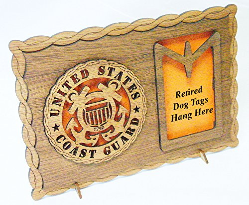 Coast Guard Dog Tag Display