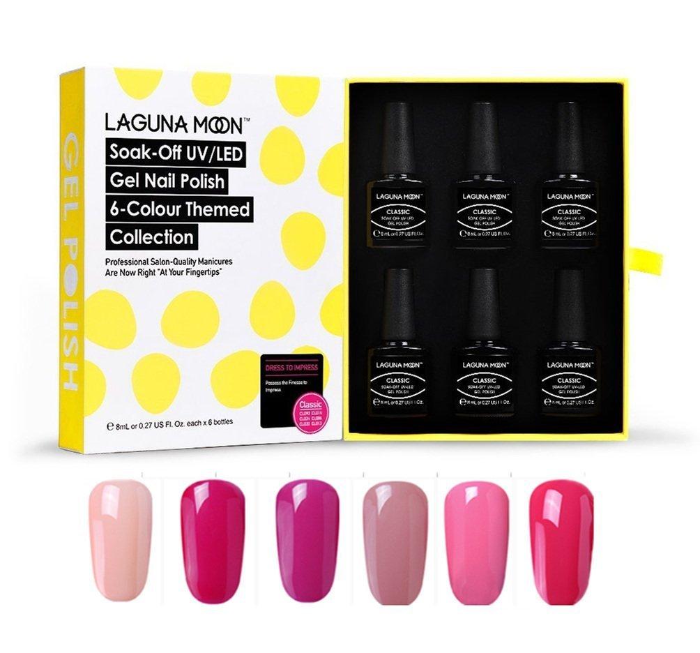 Amazon.com: Lagunamoon Nail Gel UV Nail Lamp,Nail Dryer with Free ...