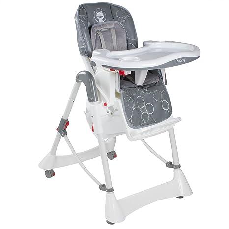 Froggy - Trona para bebés, sillita alta con correa de seguridad ...