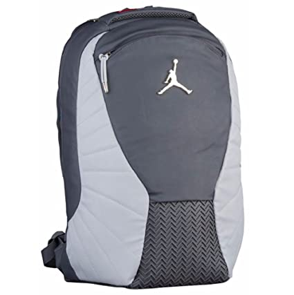 047756d27641 Amazon.com  Nike Jordan Retro 12 Backpack W  Laptop Pocket Dark Grey   Computers   Accessories