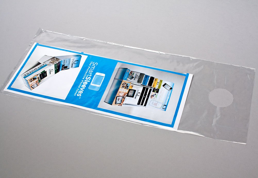 Amazon.com ClearBags 6 x 9 Door Hanger Bags for Door Knob Flyers Promotions and More | Protect Against Rain Weather Bugs Etc | Easy-to-Use Tear Off ... : door sleeves - pezcame.com