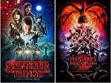 #5: STRANGER THINGS POSTERS Season 1 and 2 Posters Set (2 Posters), Size Each 24x36