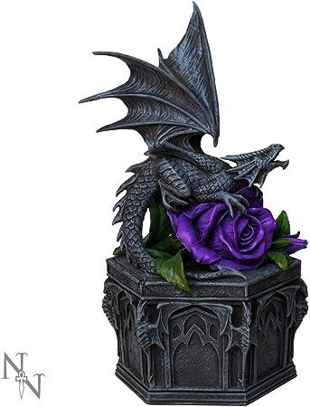 Nemesis Now Figurine en r/ésine Noir 13 cm Taille Unique