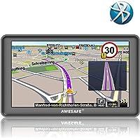 GPS Auto avec Bluetooth écran Tactile cartographie de système de Navigation Automatique de 7 Pouces Europe 52 Pays Gratuit Multi-Langue intégré de 8 Go Support SD Carte