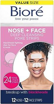 Biore Blackhead Removing and Pore Unclogging Deep Cleansing Pore Strip