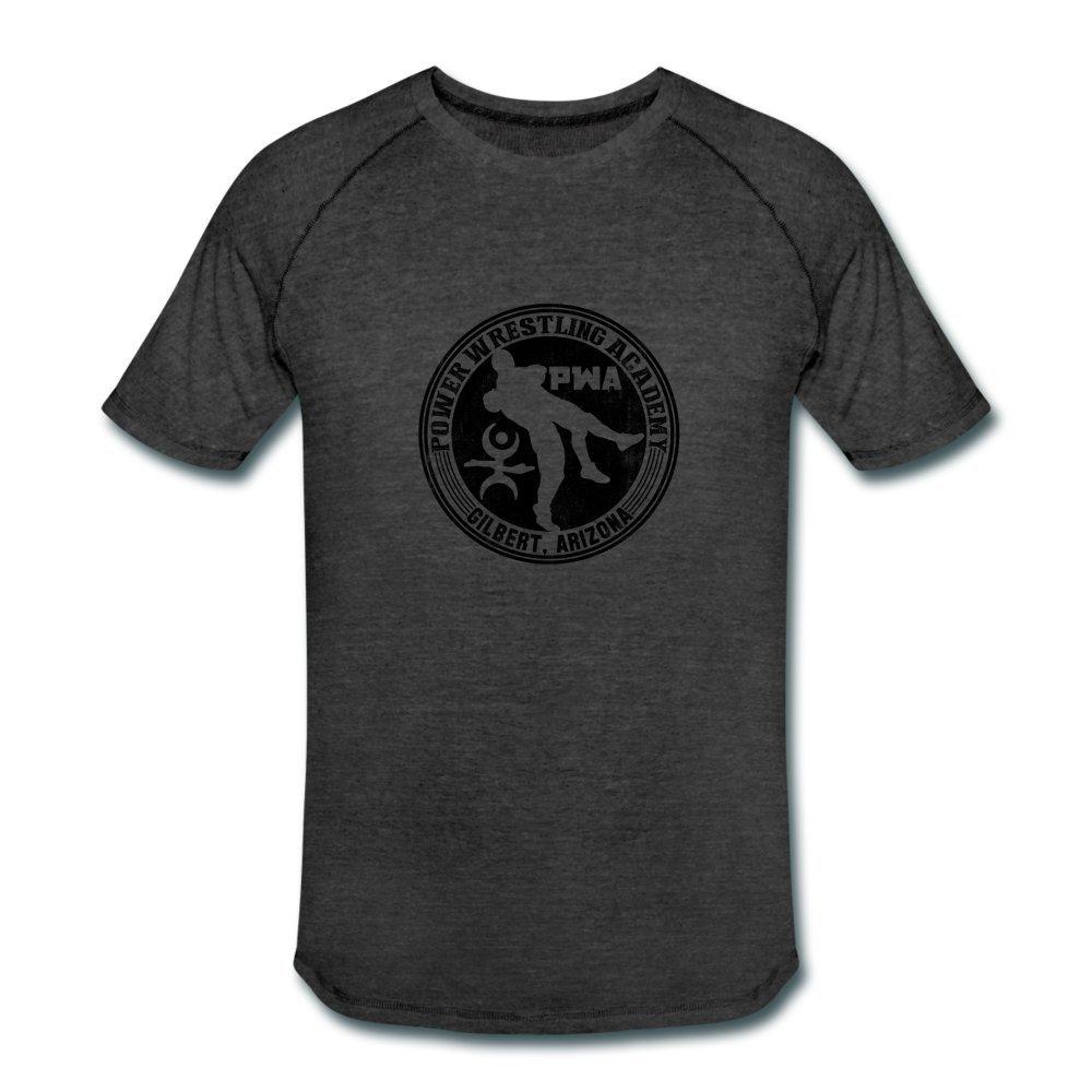 ATHLETE ORIGINALS Men's Tri-Blend Performance T-Shirt by Cb Dollaway XL Heather Black by ATHLETE ORIGINALS
