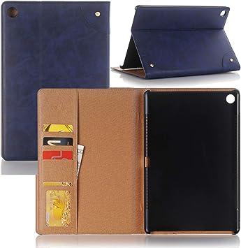 Funda de piel para Tablet PC Para Huawei MediaPad M5 Estuche de cuero ambiental de PU