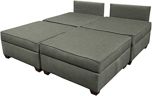 Duobed multifuntional King Sofa Sleeper