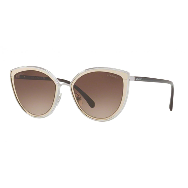 Chanel - Gafas de sol - para mujer dorado dorado: Amazon.es ...