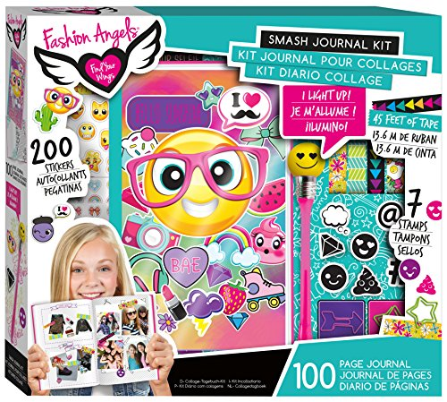 Fashion Angels Enterprises Emoji Smash Journal Kit