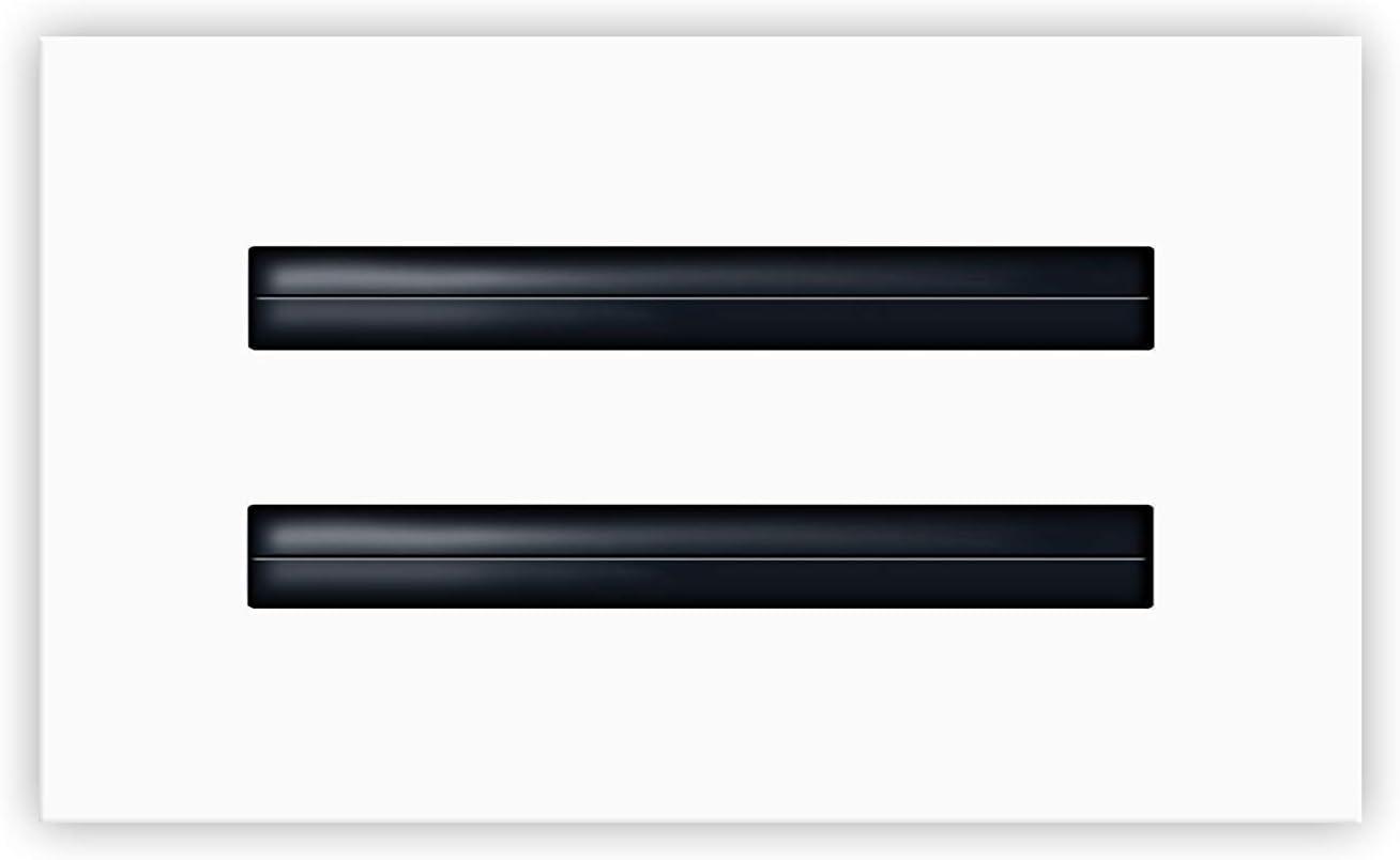 "8"" x 4"" Standard Linear Slot Diffuser - HVAC Vent Cover - AC Register - Single"