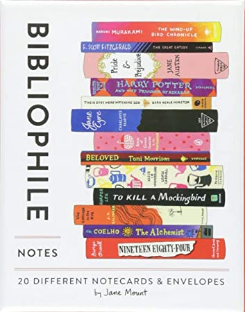 Bibliophile Notecards and Envelopes