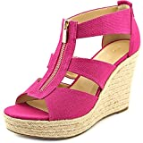 MICHAEL Michael Kors Womens DAMITA Open Toe Casual Wedged Sandals