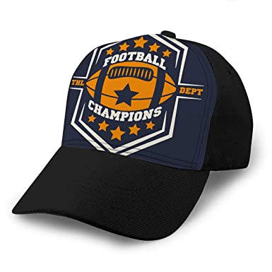 american football baseball caps