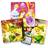 Disney Baby Toddler Board Books - Set of 3 Books with Disney Fairies Stickers (Disney Fairies Princess Board Books)