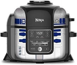 KRAFT'D Wrap for Ninja Foodi 6.5 Quart QT Accessories Cover Sticker   Wraps fit Ninja Foodi 6.5 Quart QT Mdl: OP302 107   Droid Star