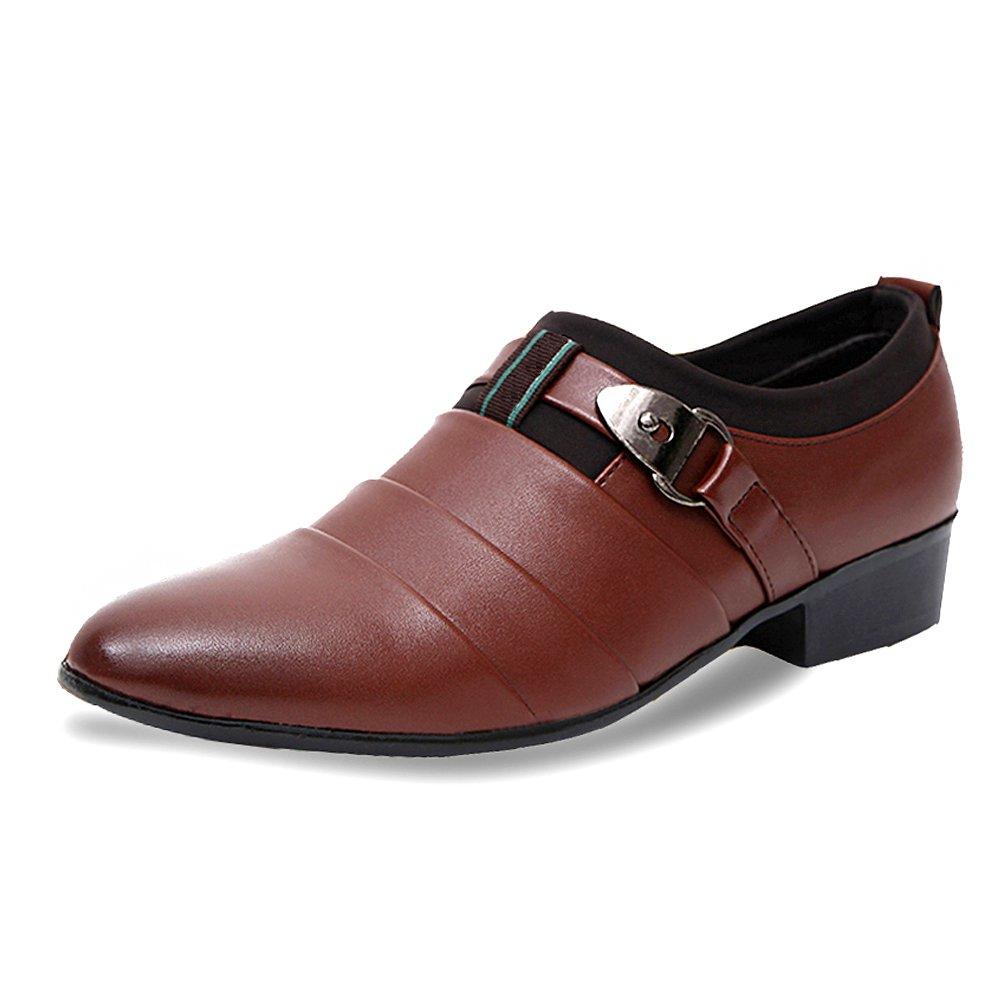 Poplover - Zapatos de Cordones para Hombre