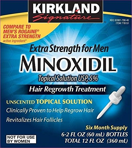 Minoxidil Regrowth Treatment Months Unscented