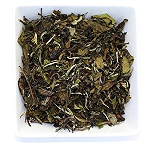 Tealyra - White Peony - Bai Mu Tan White Loose Leaf tea - Premium Chinese White Tea - Organically Grown - Caffeine Level Low - 200g (7-ounce)