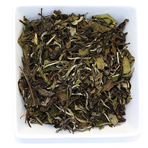 Tealyra - White Peony - Bai Mu Tan White Loose Leaf tea - Premium Chinese White Tea - Organically Grown - Caffeine Level Low