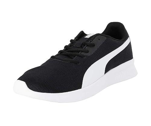 Modern Runner Black White Running Shoes