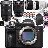 Sony Alpha a7R III Mirrorless Digital Camera with FE 70-200mm f/2.8 GM OSS + FE 12-24mm f/4 G + FE 24-70mm f/2.8 GM Lens 14PC Accessory Bundle