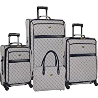 Travel Gear Orion 4 Piece Expandable Spinner Luggage Set