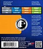 Elixir Strings Electric Guitar Strings with NANOWEB Coating Custom Light (.009-.046)