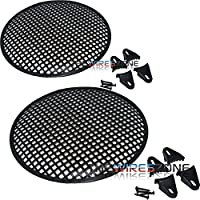 The Install Bay 85-9012 12 inch Subwoofer Waffle Speaker Cover Grille Grill (pair)