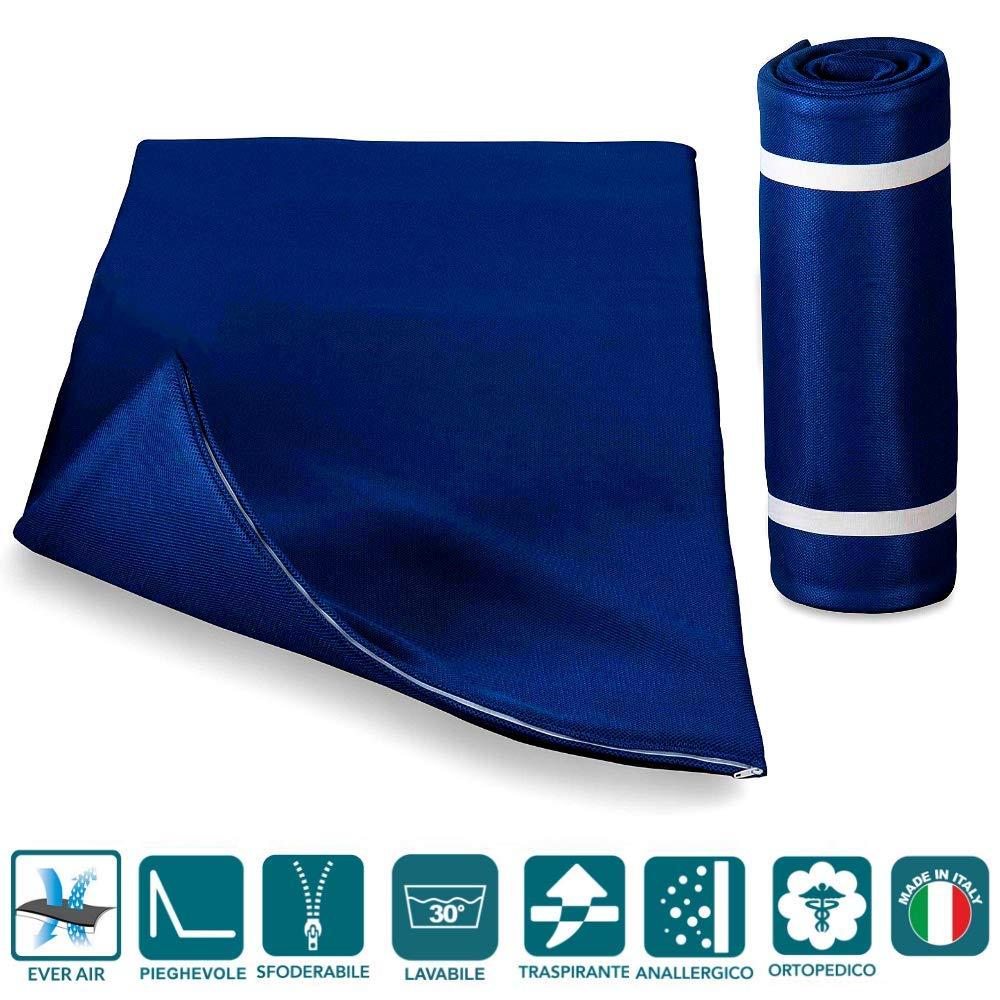 Evergreenweb - Colchón Topper Enrollable Double 140x195cm - Soporte ergonómico – Esterilla - excelente colchón de