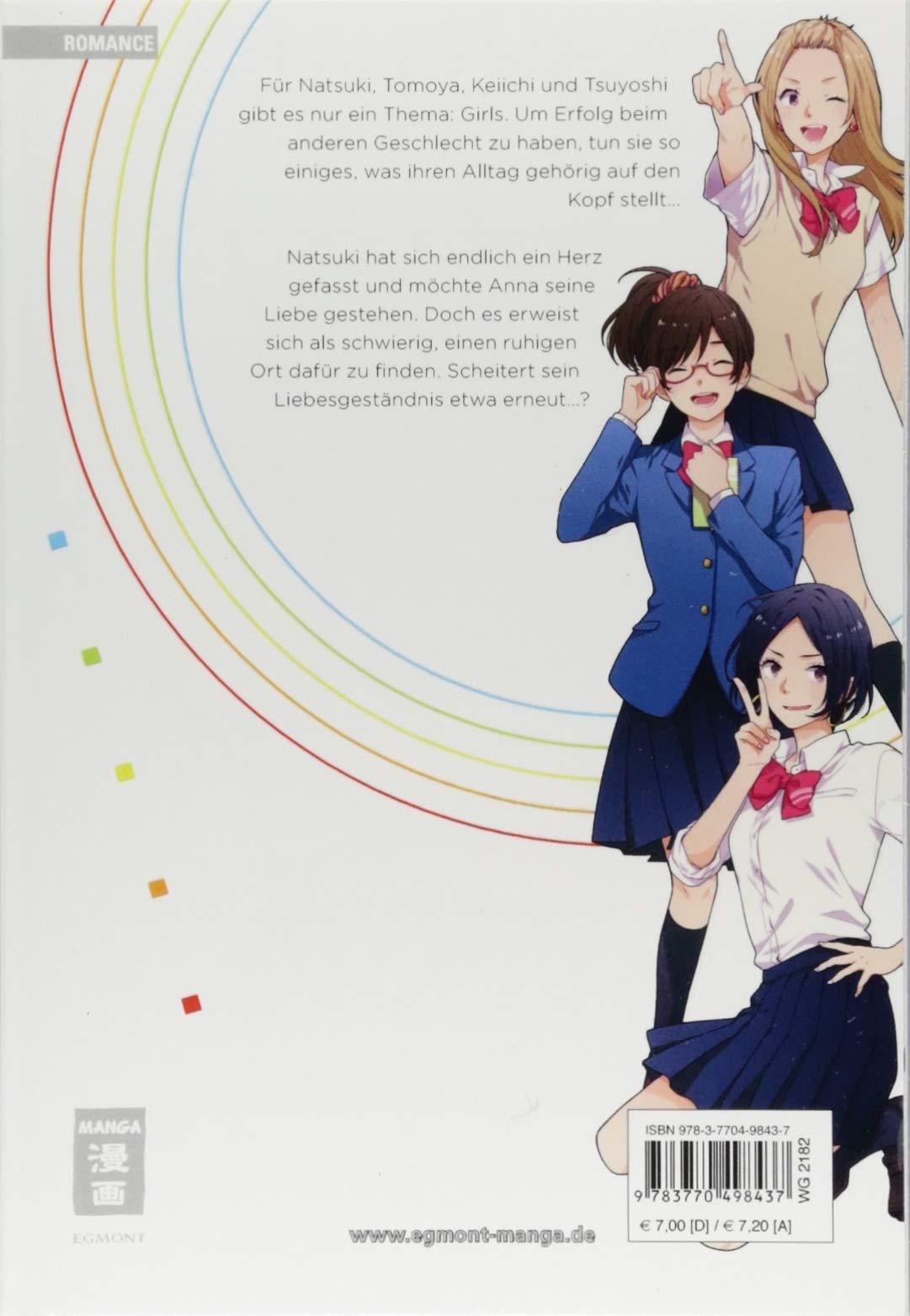 Rainbow Days Band 3 Egmont Manga