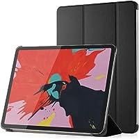 Simpeak Funda Compatible iPad Pro 12.9 2018, Carcasa iPad Pro 12.9 Modelo 2018 Case Multi-ángulo Cubierta Folio con el Soporte Reposo Automático de Despertador, Negro