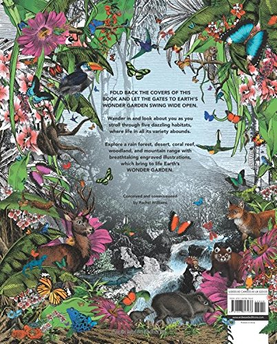 The Wonder Garden: Wander through 5 habitats to discover 80 amazing animals by Wide Eyed Editions (Image #2)