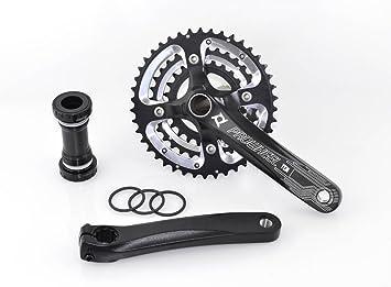 PROWHEEL - 15405 : Platos y bielas BTT MTB paseo 3x10 170mm 42/32/24 dientes bici bicicleta: Amazon.es: Coche y moto