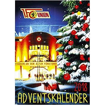 Alte Weihnachtskalender.1 Fc Union Berlin Advent Christmas Calendar Amazon Co Uk Sports