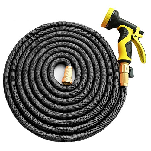 Garden Hose, Homeme 100 Feet Newest Expandable Strongest Magic Hose Pipe...